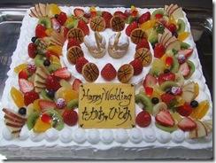 ウエディングケーキ 7