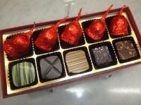ショコラ5粒・チェリーボンボン5粒の詰め合わせ