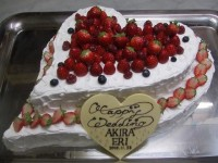 ウエディング・各種お祝いケーキ